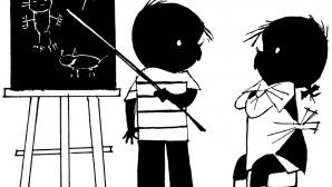 Jip en Janneke schoolbord